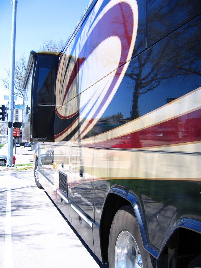 Tour bus aux USA